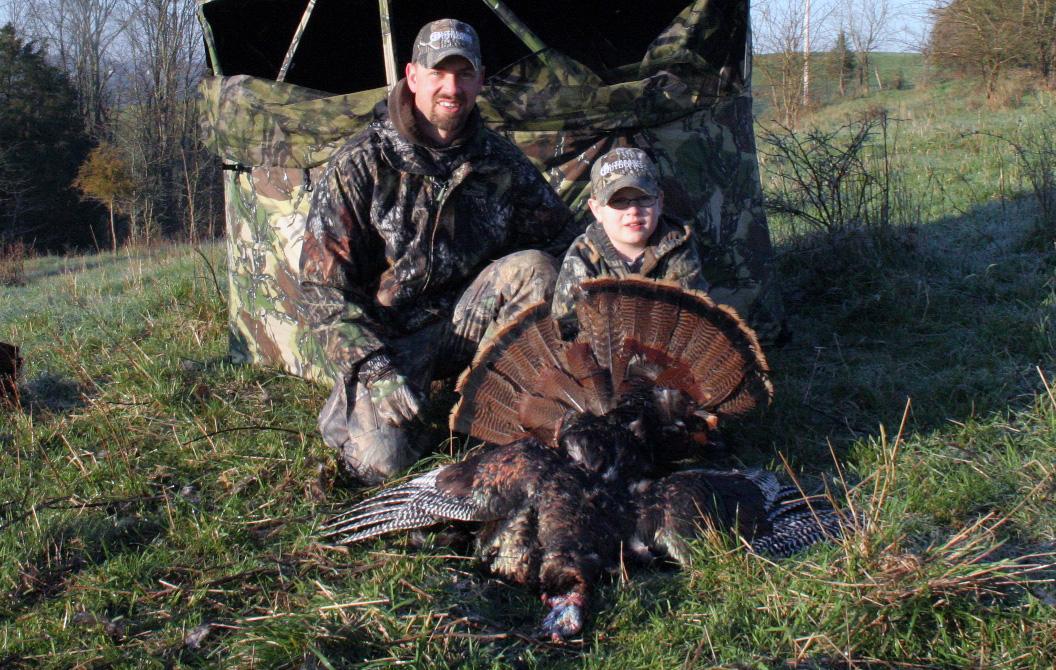 Successful youth turkey hunt